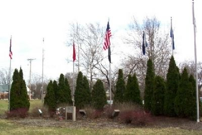 Pickerington Veterans Memorial image. Click for full size.