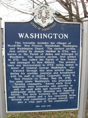 Washington Marker [front] image. Click for full size.