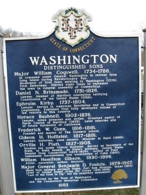 Washington Marker [back] image. Click for full size.