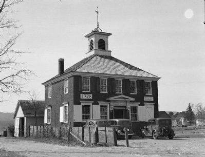 Bullet Hill School (Courtesy of Historic American Building Survey, Library of Congress) image. Click for full size.