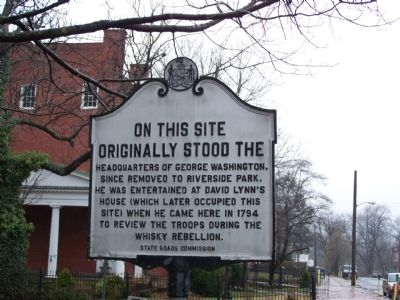 Headquarters of George Washington Marker image. Click for full size.