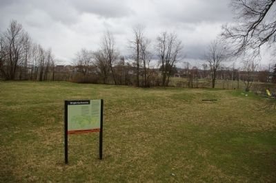 Wright Earthworks and Marker image. Click for full size.