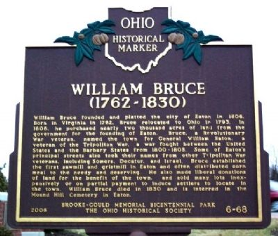 William Bruce Marker image. Click for full size.