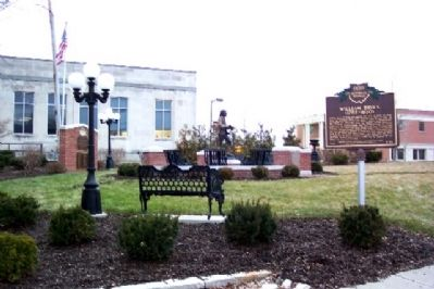 William Bruce Marker in Brooke-Gould Memorial Bicentennial Park image. Click for full size.