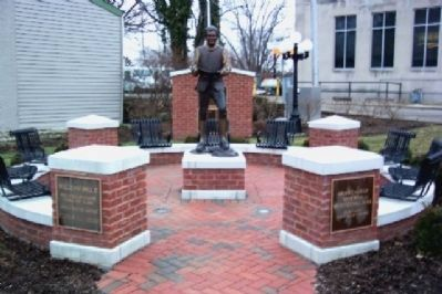 William Bruce Statue in Brooke-Gould Memorial Bicentennial Park image. Click for full size.
