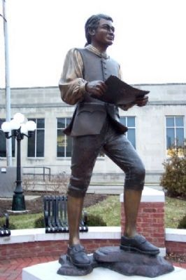 William Bruce Statue image. Click for full size.