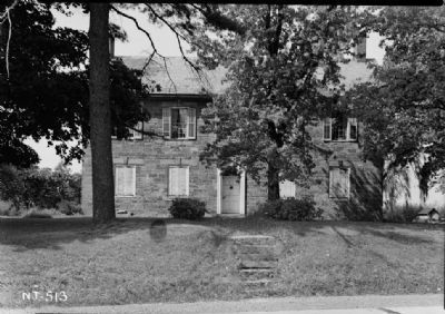 Amwell Academy (Courtesy of the Historic American Building Survey, Library of Congress) image. Click for full size.