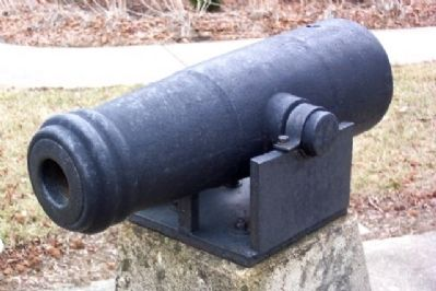 Small Cannon at Farmersville War Memorial image. Click for full size.