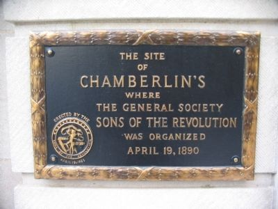 Site of Chamberlin's Marker image. Click for full size.