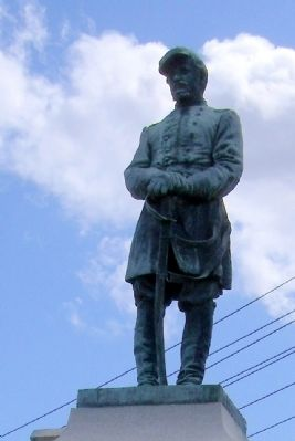 Col. George W. Gowen Statue image. Click for full size.
