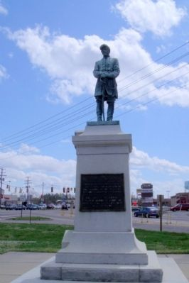 Col. George W. Gowen Monument. image. Click for full size.