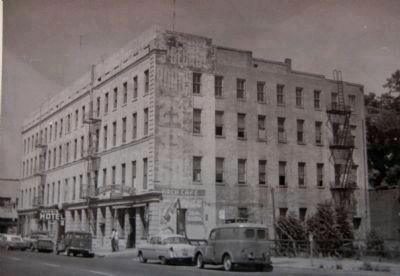 The Morris Hotel in 1960 (formerly the St. George Hotel) image. Click for full size.