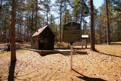 Hard Labor Creek State Park Marker image. Click for full size.
