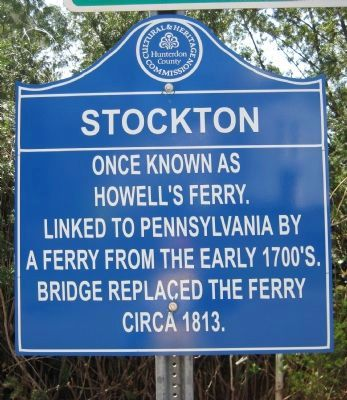 Stockton Marker image. Click for full size.