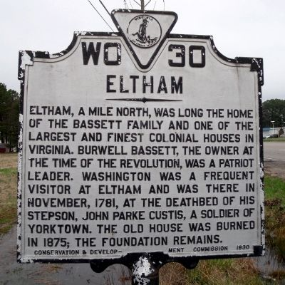 Eltham Marker image. Click for full size.