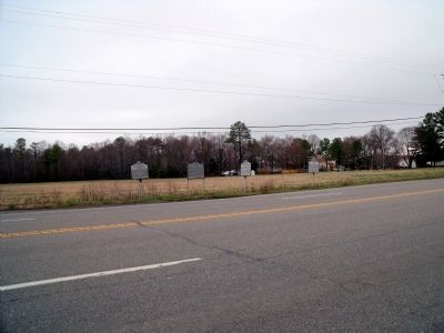 New Kent County Marker on Eltham Road. image. Click for full size.