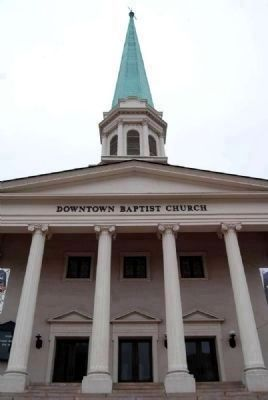 Downtown Baptist Church image. Click for full size.