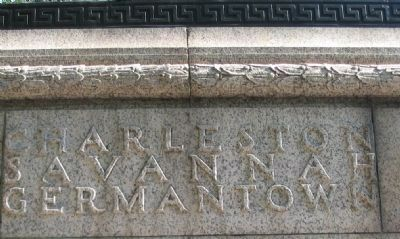 Right Side of Memorial image. Click for full size.