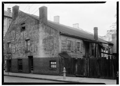 Golden Ball Tavern (rear). image. Click for full size.