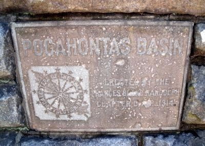 Pocahontas Basin Inscription. image. Click for full size.