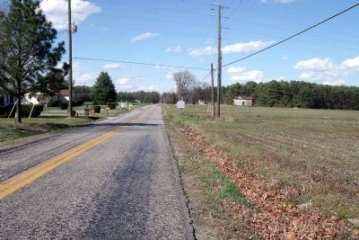 Quaker Road (facing north). image. Click for full size.
