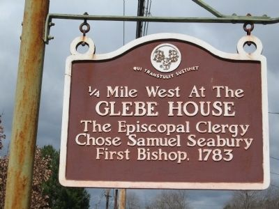 Glebe House Marker image. Click for full size.