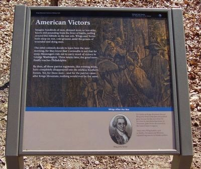 American Victors Marker image. Click for full size.