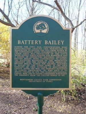 Separate Battery Bailey Marker, nearby image. Click for full size.
