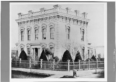 Northwest Corner of House Prior to 1870 image. Click for more information.
