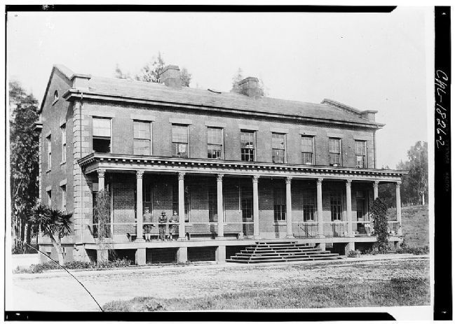 Benicia Barracks image. Click for more information.