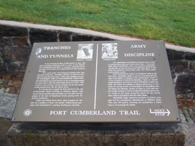 Trenches and Tunnels / Army Discipline Marker image. Click for full size.