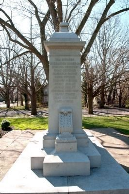 Greenwich Tea Burning Monument Marker - Patriot Names image. Click for full size.