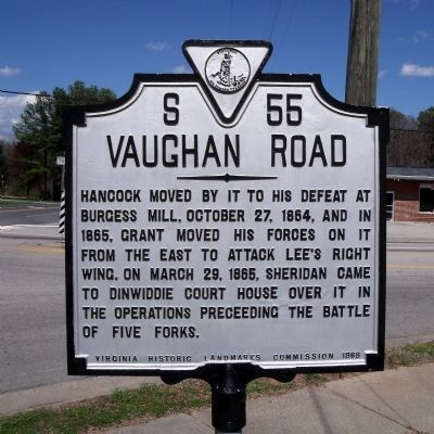 Vaughan Road Marker image. Click for full size.