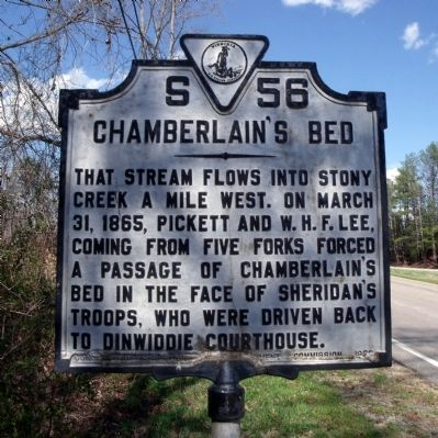Chamberlain's Bed Marker image. Click for full size.