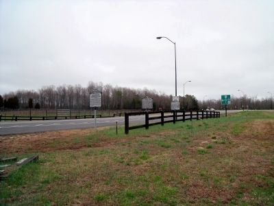 The White House Marker on New Kent Hwy. image. Click for full size.