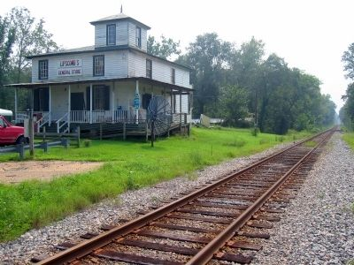Tunstall Station, York River RR, New Kent County, Va. image. Click for full size.