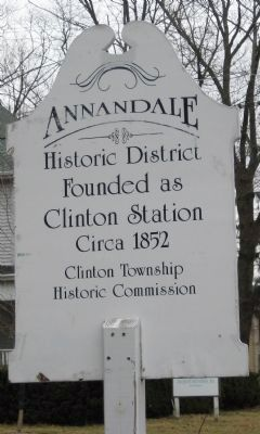 Annandale Historic District Marker image. Click for full size.