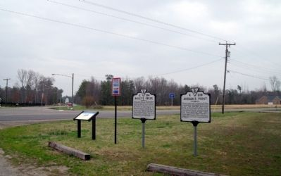 Ruffin Road & Old Stage Road, Prince George, VA. image. Click for full size.