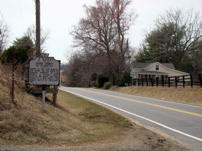 Orange County / Louisa County Marker image. Click for full size.