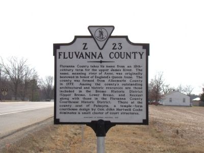 Louisa County / Fluvanna County Marker image. Click for full size.