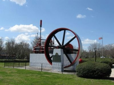 Steam Engine and Marker image. Click for full size.
