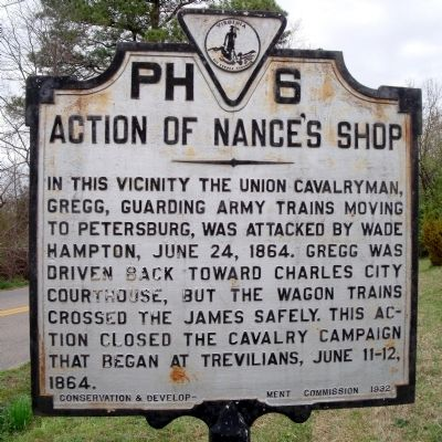 Action of Nance's Shop Marker image. Click for full size.