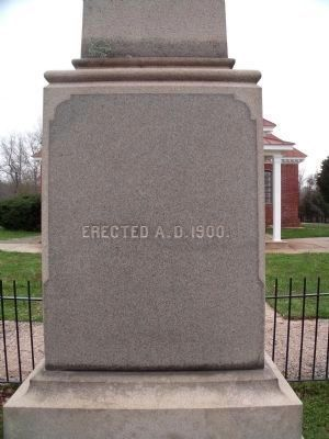 Charles City Confederate Soldiers Monument (south face). image. Click for full size.