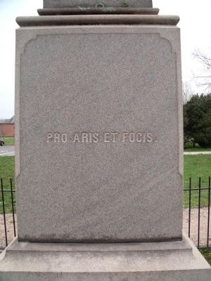 Charles City County Confederate Soldiers Monument (east face). image. Click for full size.