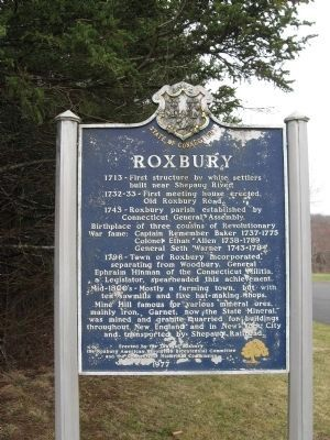 Roxbury Marker image. Click for full size.