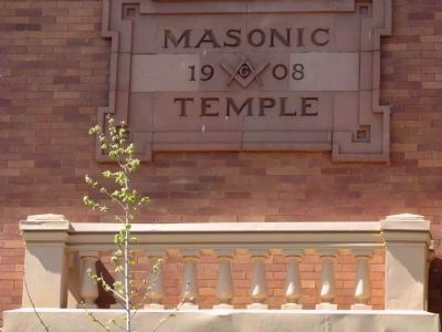 Oroville Masonic Temple image. Click for full size.