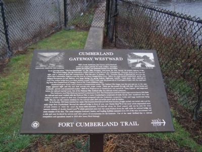 Cumberland Gateway Westward Marker image. Click for full size.