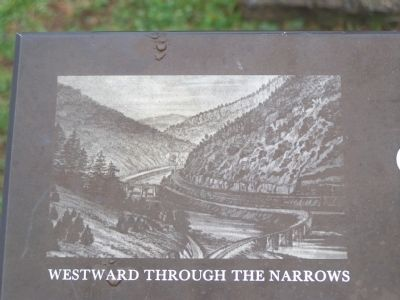 Westward through the Narrows image. Click for full size.