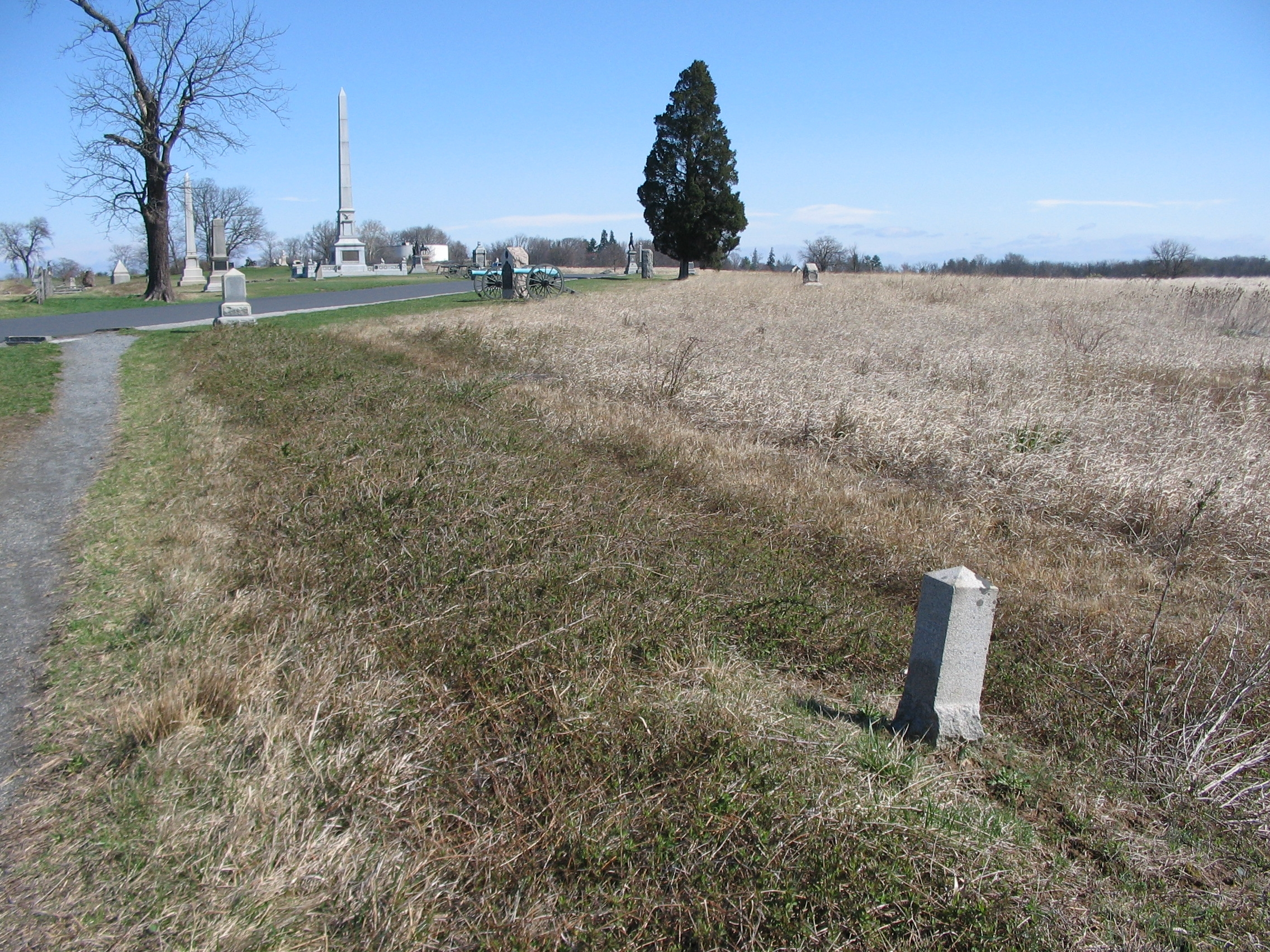 143rd Pennsylvania Infantry Position