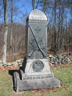 49th New York Infantry Monument image. Click for full size.